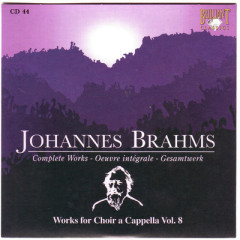 Johannes Brahms Edition: Complete Works (CD44)