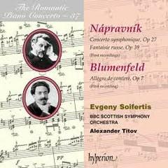 The Romantic Piano Concerto, Vol. 37 – Napravnik & Blumenfeld - Evgeny Soifertis,BBC Scottish Symphony Orchestra,Alexander Titov