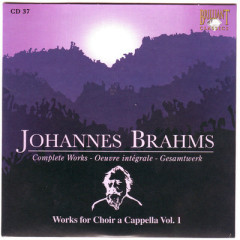 Johannes Brahms Edition: Complete Works (CD37)