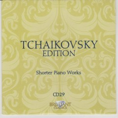 Tchaikovsky Edition CD 29 (No. 2)