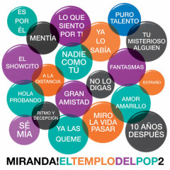 El Templo Del Pop, Vol. 2 - Miranda!