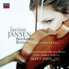 Beethoven & Britten: Viiolin Concertos - Janine Jansen