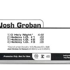 O Holy Night (US Promo CDS) - Josh Groban