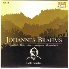 Johannes Brahms Edition: Complete Works (CD18)