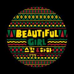 Beautiful Girl - Skull,Haha