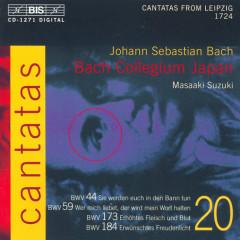 Bach - Cantatas Vol 20 CD1