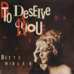 To Deserve You (CDM)