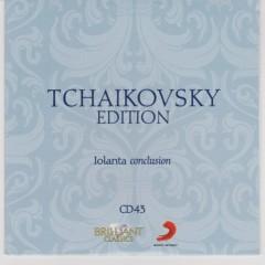 Tchaikovsky Edition CD 43