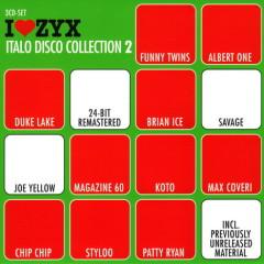 I Love ZYX Italo Disco Collection 2 cd2