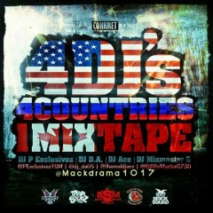 4 DJ's, 4 Countries, 1 Mixtape (CD2)