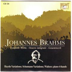 Johannes Brahms Edition: Complete Works (CD24)
