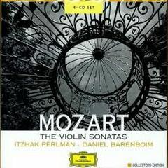 Mozart:The Violin Sonatas CD1 - Daniel Barenboim,Itzhak Perlman