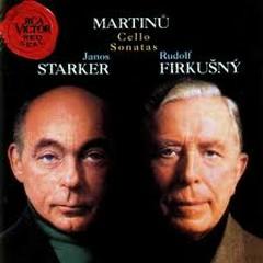 Bohuslav Martinu: Cello Sonatas 1-3