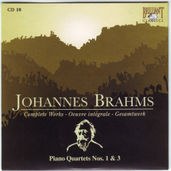 Johannes Brahms Edition: Complete Works (CD10)