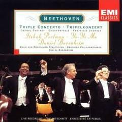 Beethoven - Triple Concerto, Choral Fantasy - Yo-Yo Ma,Itzhak Perlman,Daniel Barenboim
