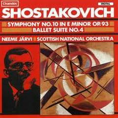 Shostakovitch:The Symphonies CD8 - Neeme Jarvi,Scottish Chamber Orchestra,Gothenburg Symphony Orchestra