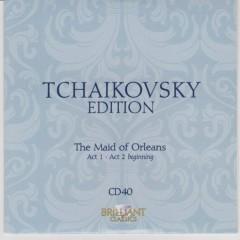 Tchaikovsky Edition CD 40