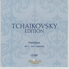 Tchaikovsky Edition CD 49
