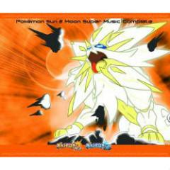 Nintendo 3DS Pokémon Sun & Moon Super Music Complete CD1 No.2