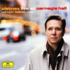 Pletnev Live At Carnegie Hall CD1 - Mikhail Pletnev