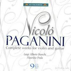 Nicolo Paganini Complete Violin And Guitar CD1