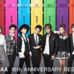 AAA 10th ANNIVERSARY BEST CD1 - AAA