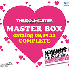 THE iDOLM@STER MASTER BOX catalog 08,09,11 COMPLETE (CD4)