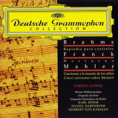 Brahms Franck Mahler Rhapshodies And Songs