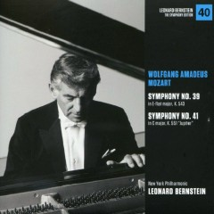 Wolfgang Amadeus Mozart – Symphonies No 39 & No 41 - Leonard Bernstein,New York Philharmonic
