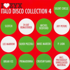 I Love ZYX Italo Disco Collection 4 cd3