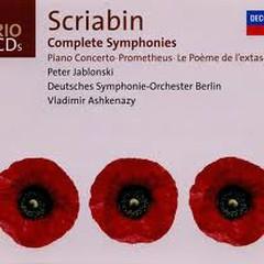 Scriabin: Complete Symphonies CD3 - Vladimir Ashkenazy,Peter Jablonski