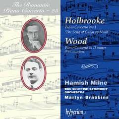 The Romantic Piano Concerto, Vol. 23 – Holbrooke & Wood No.1 - Hamish Milne,BBC Scottish Symphony Orchestra,Martyn Brabbins