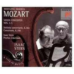 Isaac Stern:Mozart Violin Concertos CD3 - Isaac Stern,Pinchas Zuckerman