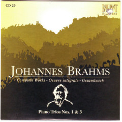 Johannes Brahms Edition: Complete Works (CD20)
