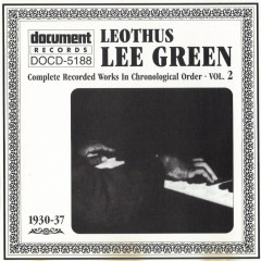 Complete Recorded Works In Chronological Order Vols.2 (CD1) - Lee Green