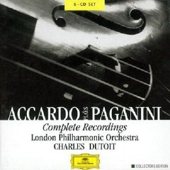 Accardo Plays Paganini - Complete Recordings CD5 No. 2