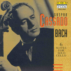 Gaspar Cassado Plays Bach Cello Suites CD1