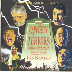 The Comedy Of Terrors OST  - Les Baxter