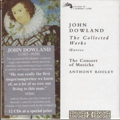 John Dowland - The Collected Works 1 (CD1)