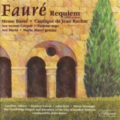 Requiem 1893 Messe Basse and other choral music