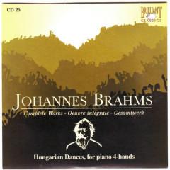 Johannes Brahms Edition: Complete Works (CD25)