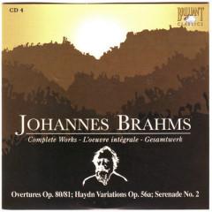 Johannes Brahms Edition: Complete Works (CD4)