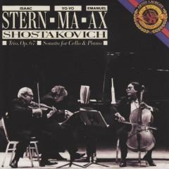 Shostakovich Piano Trio, Cello Sonata - Yo Yo Ma