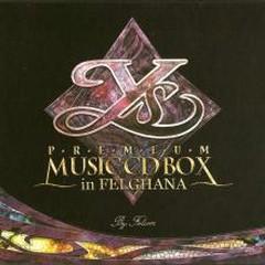 Ys PREMIUM MUSIC CD BOX in FELGHANA CD8