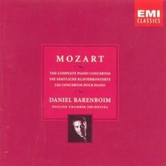 Mozart - Piano Concertos No. 21, 22, 23, 27 CD 1 - Daniel Barenboim