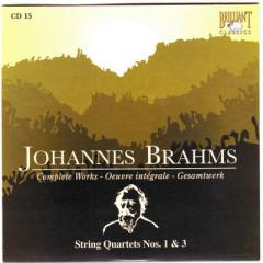 Johannes Brahms Edition: Complete Works (CD15)