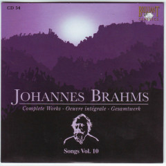 Johannes Brahms Edition: Complete Works (CD54)