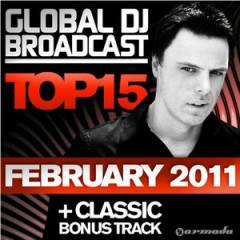 Global DJ Broadcast Top 15 - February 2011