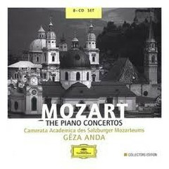 Mozart: The Piano Concertos Disc 4 - Géza Anda
