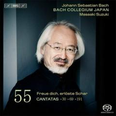 Johann Sebastian Bach: Cantatas Vol. 55